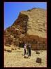(921) Snofru's Bent Pyramid / Dahschur / Egypt (unicorn 81) Tags: april2009 pyramiden pyramids unesco weltkulturerbe misr trekking sahara égypte ægyptusintertravel ägypten travel schulzaktivreisen rundreise roundtrip reise old history mapegypt egyptian egipto egypt africa aegyptus architecture dahschur bentpyramid dahshur egypttrip ägyptenreise northafrica nordafrika egypte egitto egipt egypten αίγυπτοσ ægypten 2009 meinjahr2009 geotagged