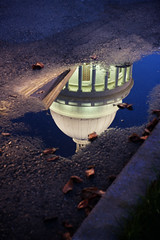 Reflecting but not pondering... (clay.wells) Tags: county blue light reflection building june rock architecture canon lens puddle eos dawn early spring twilight long exposure place natural state little you 1st reflected capitol hour dome government motor arkansas usm too rotunda 2009 ef pediment 1740 lattice balustrade pulaski ultrasonic bigmomma f4l img7724 ioniccolumns 40d thechallengefactory herowinner thepinnaclehof tphofweek1 claytonwells