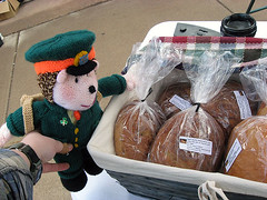 Grab a few loaves before we go!