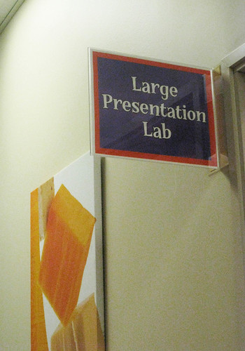 Taco Bell Blogger Event: Large Presentation Lab