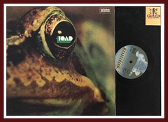 "Toad ""Toad"" Bellaphon Records BLPS 19047 PROG Vinyl LP"