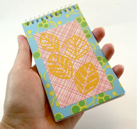 Playing with Hambly Screen Prints: A Customized Notebook