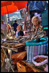 Fish sellers in Kiev (Isedo) Tags: world street people fish kiev mercato kyiv reportage pesce sellers