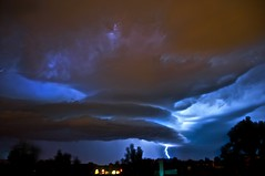 Lightning Storm (david.evenson) Tags: storm colorado longmont boulder lightning lyons