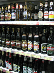 Buenos Aires beer selection
