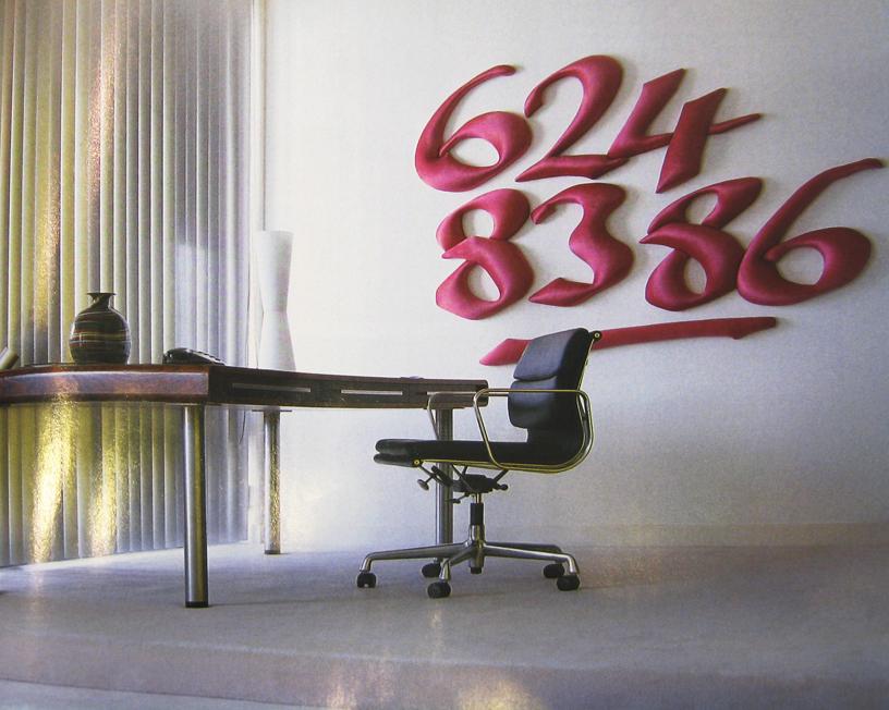Fabricated Phone Numbers -wall art