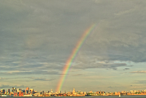 Rainbow Over Brooklyn by Imagery By AD.