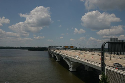 Woodrow Wilson Memorial Bridge...