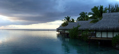 Huts (Aaron-RT) Tags: island peaceful huts pacificocean tahiti marooea