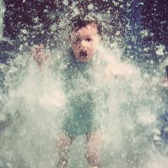 Help! (Kerrie McSnap) Tags: water kids children square nikon mood moody child atmosphere help splash townsville waterpark d60