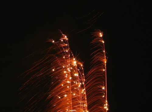 Neighbourhood fireworks