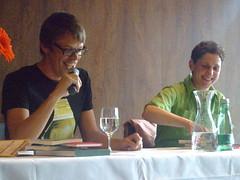 Markus Köhle und Felicitas Hoppe