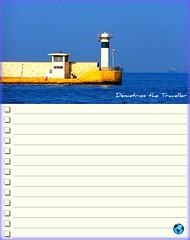 "Atumnal "" TO DO list "" (Demetrios Georgalas aka brexians) Tags: travel blue autumn sun fall port season europe colours seasonal greece beacons various motivational todolist pireaus"