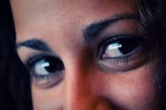 Her Eyes (corey.wagehoft) Tags: woman reflection beautiful eyes florida mia jacksonville hereyes