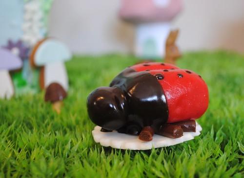 Marzipan ladybird