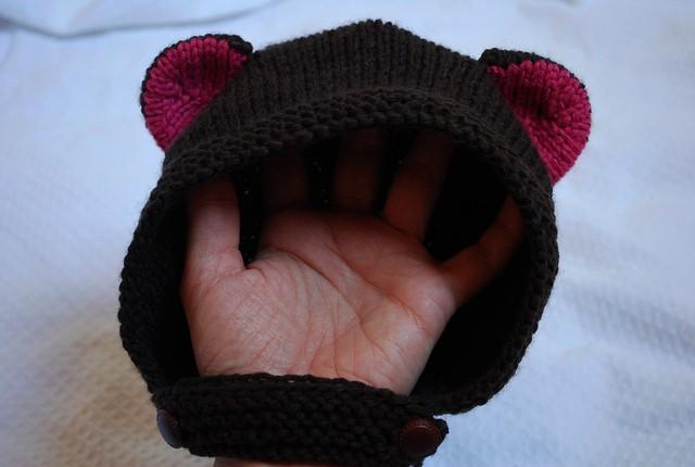 Gorro Bebê Urso