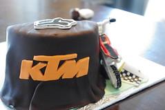 MollyCake Dirt Bike Cake (Molly Cake) Tags: birthday boy cake ktm dirtbike mollycake