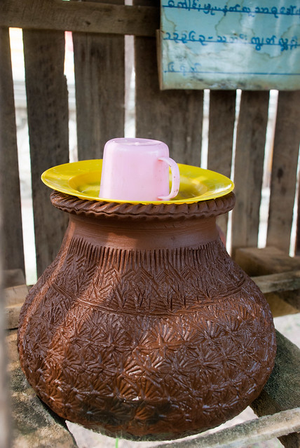 water container in Nyaungshwe, Myanmar