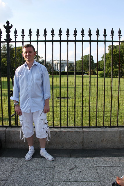 Ryan Janek Wolowski at The White House in Washington, D.C.