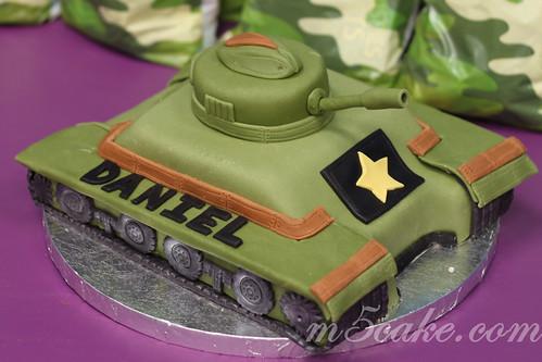 Military Tank Cake - 2