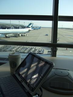 《中部空港》Wi-Fi Area