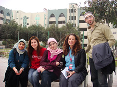 GAZA_YouthGroup_Cassandra2ndFromRight