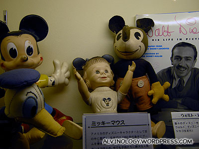 Antique Mickey Mouse toys