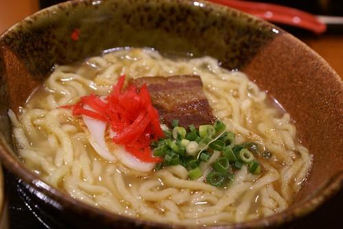 琉球そば定食