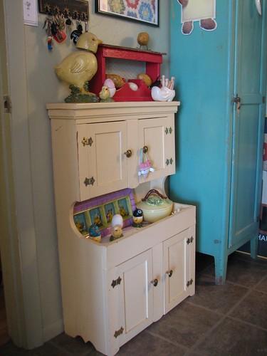 yellow cupboard