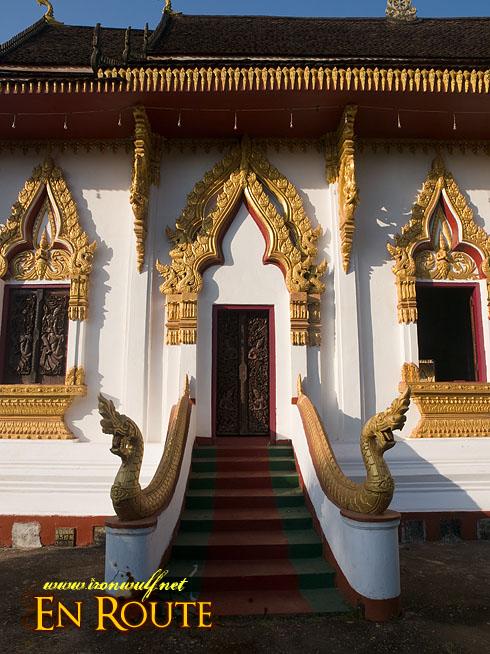 Laos Wat Luang Door