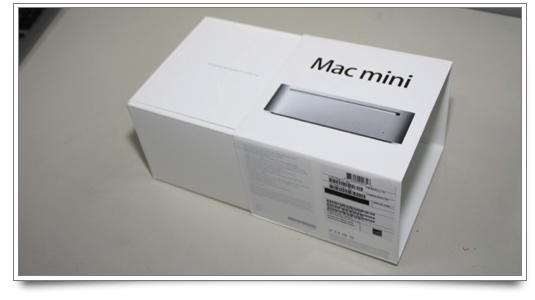 Mac mini box