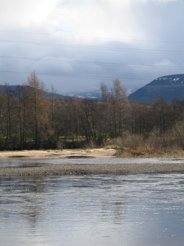 river spey from our chalet
