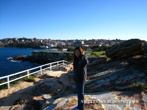 me standing at bondi cliff