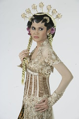 Modern Kebaya Wedding Gown