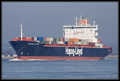 Mississauga Express (leightonian) Tags: uk island boat ship unitedkingdom isleofwight solent gb containership isle cowes wight iow