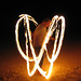 Tew Fire Twirling in Coral Bay - Australia Study Abroad
