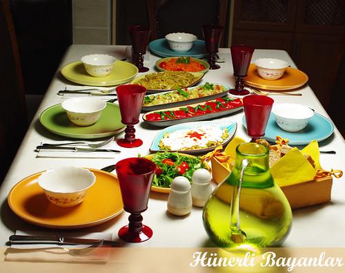 Suner Ailesi ile Akşam Yemeği
