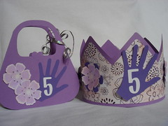 Handbag Card and Hat (leni4jjc) Tags: shapes h2141 ll177 s5135 2009catalog