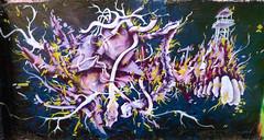 By KANOS (ODV) (for Graff  La Forge) (Thias (-)) Tags: terrain streetart black paris graffiti belleville spot astro dent painter graff bombing laforge odv esty mnilmontant kanos arosol