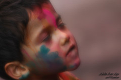 childhood.... in my dreams.... ( (double-A Apu)) Tags: childhood canon colorful child dhaka holi banglades