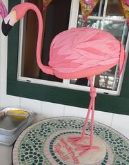 Flamingo Cake (Giobaby) Tags: birthday pink cake kids flamingo luau luauparty luaucake flamingocake giobaby