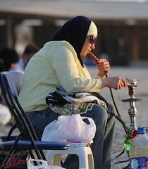 "fixing the ""sheesha""... thats' Hookah for some of you (Ausamah) Tags: history sex bahrain gulf middleeast hijab culture arabic east arab historical arabian middle manama bahraini                               albahrain"