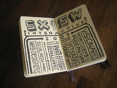 Mike Rohde Design SXSW 2009 Sketches