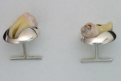 Cufflinks, side view