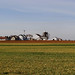Amish Green Grass Farm Distant