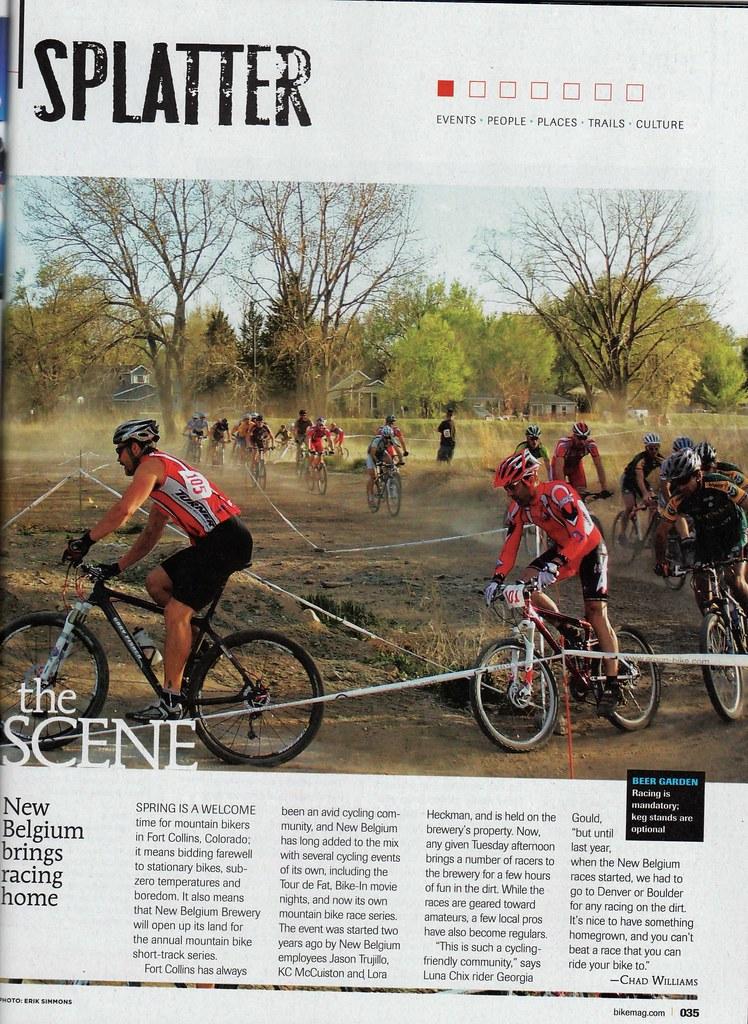 NBB STXC story in Bike Magazine