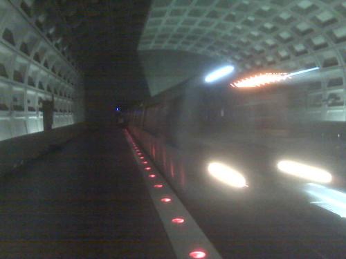 Metro train!