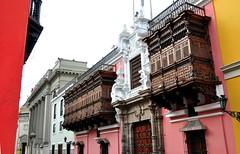 Colors of Lima (aaron.oberlander) Tags: peru lima balconies d90