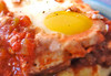Eggs Diablo Recipe on polenta