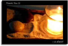 T H A N K . Y O U . . . (Messages of Light) Tags: hurt sand candle thankyou pebbles strong meditation forgivness lessonsoflife nosorrows iammyselfsbestfriend